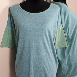 Lularoe Irma Shirt Top Small Colorblock